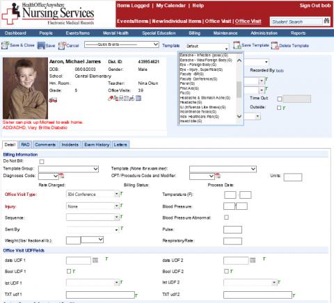 Custom Templates screenshot